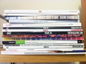 my magazine pile 2012